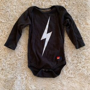 Aviator nation lighting onesie